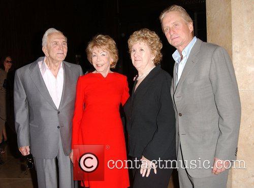 Kirk Douglas, Anne Douglas aka Anne Buydens, Peggy...