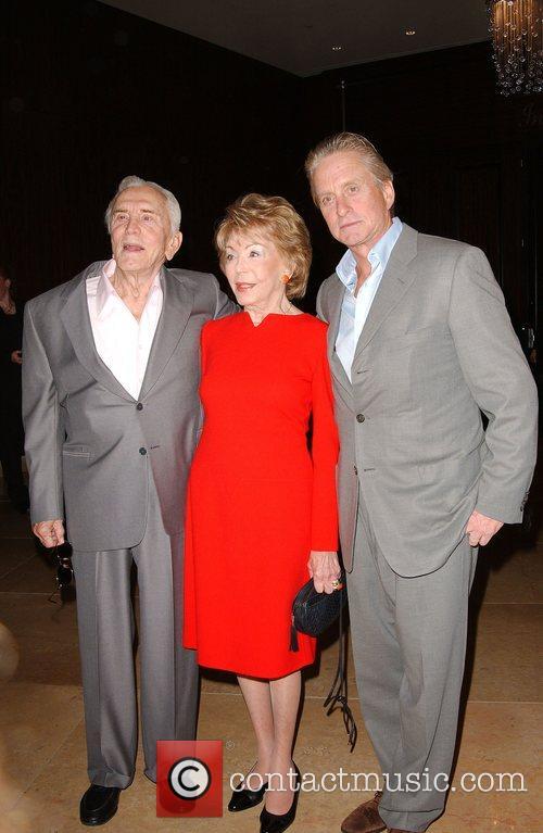 Kirk Douglas, Anne Douglas aka Anne Buydens, Michael...