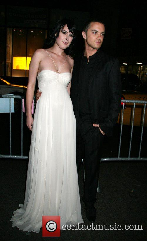 Rumer Willis and Guest 2008 Tribeca Film Festival...