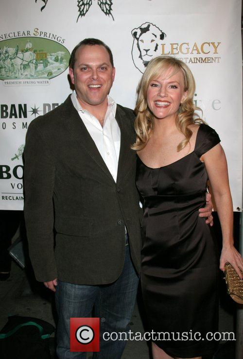 Rachael Harris and Husband Adam Paul 2