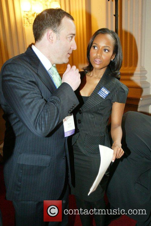 Kerry Washington and guest Arts Advocacy Day 2008...