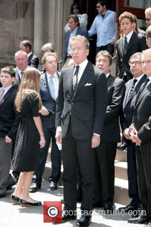 Calvin Klein, Bob Colacello and Regis Philbin depart...