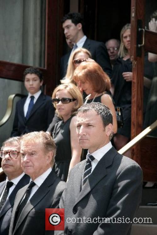Bob Colacello, Regis Philbin and Michael Gelman depart...