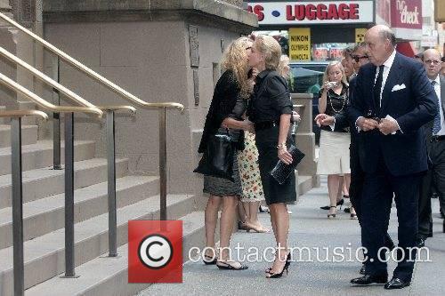 Carolina Herrera and Reinaldo Herrera arrive at the...