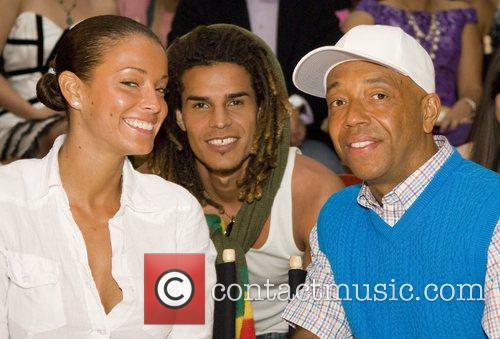 Porscha Coleman and Russell Simmons 2