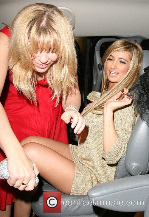 Chantelle Houghton and her mother, at Funky Buddha...