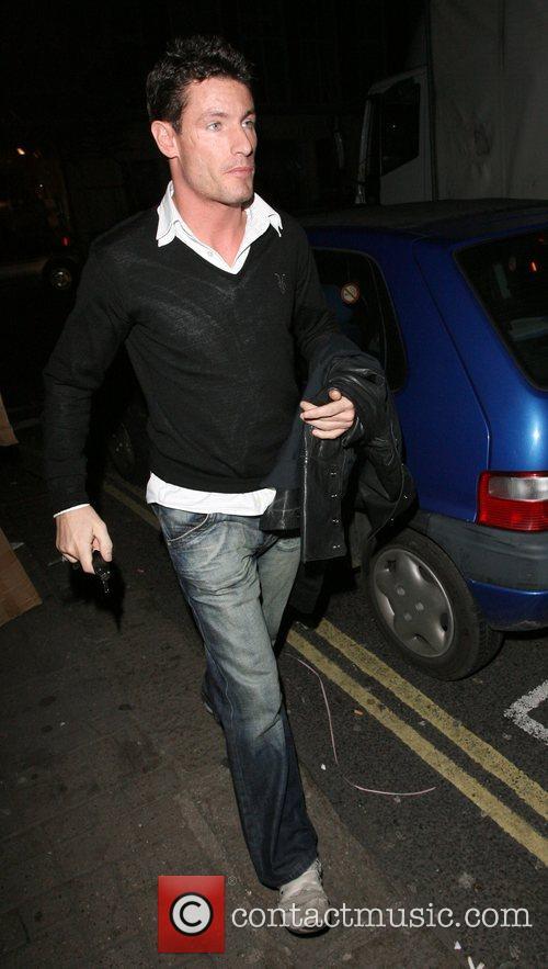 Dean Gaffney, at Funky Buddha nightclub London, England