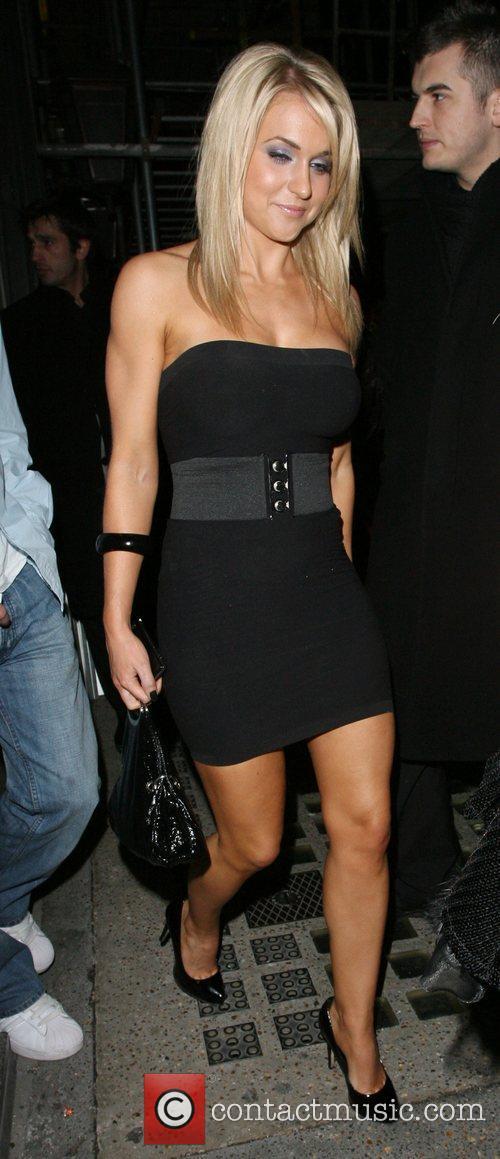Kayleigh Pearson, at Funky Buddha nightclub London, England