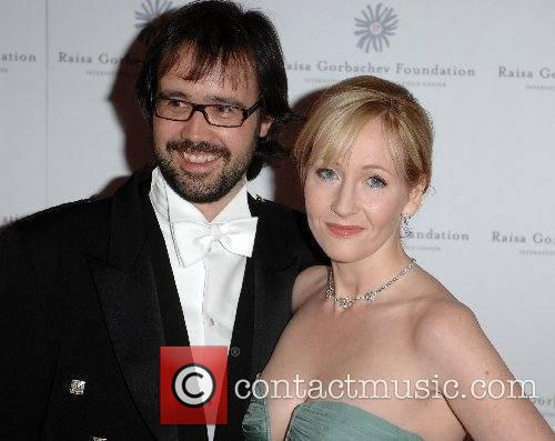 J K Rowling and guest Raisa Gorbachev Annual...