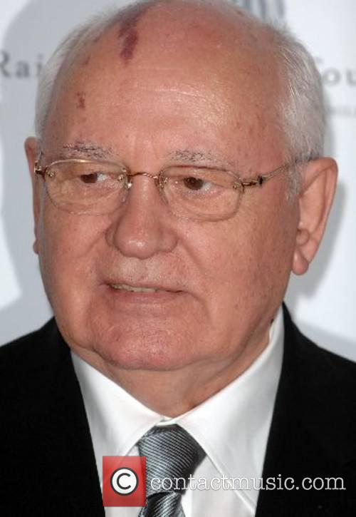 Mikhail Gorbachev Raisa Gorbachev Annual Gala Dinner at...