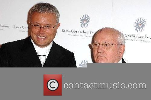 Alexander Lebedev and Mikhail Gorbachev Raisa Gorbachev Foundation...