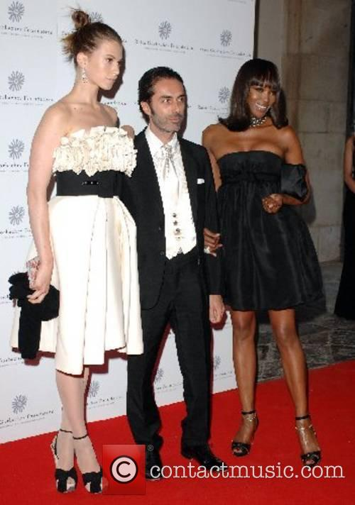 Naomi Campbell and guests Raisa Gorbachev Foundation Annual...