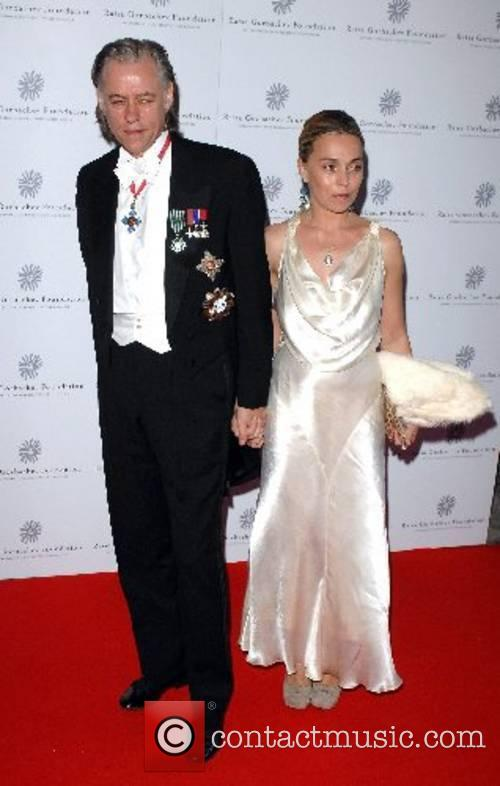 Sir Bob Geldof and Jeanne Marine Raisa Gorbachev...