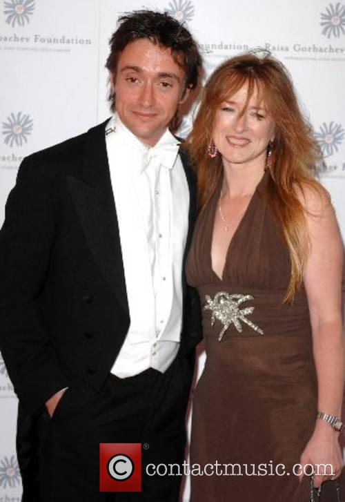 Richard Hammond and wife, Amanda Hammond Raisa Gorbachev...