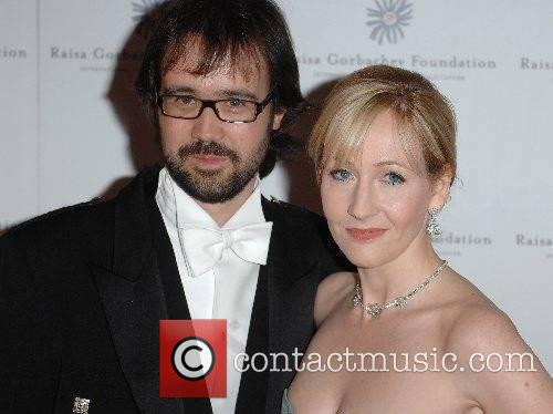 J.K. Rowling and guest Raisa Gorbachev Foundation Annual...