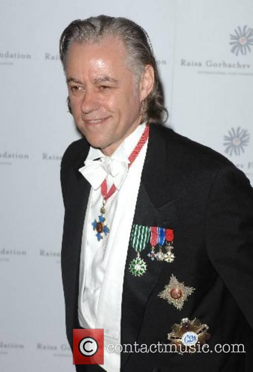 Sir Bob Geldof Raisa Gorbachev Annual Gala Dinner...
