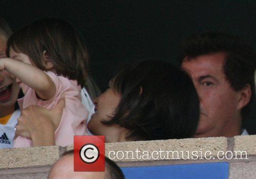 David Beckham's debut match in an LA Galaxy...