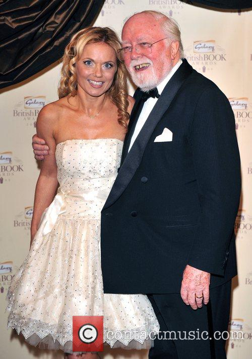 Geri Halliwell and Lord Richard Attenborough 9