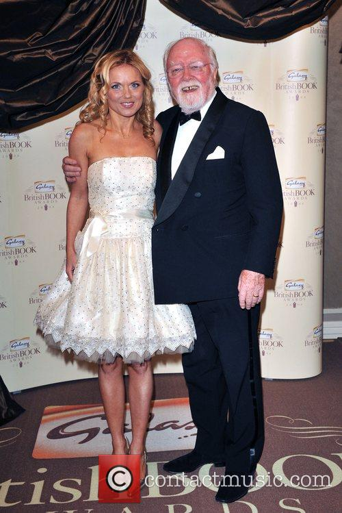 Geri Halliwell and Lord Richard Attenborough 11