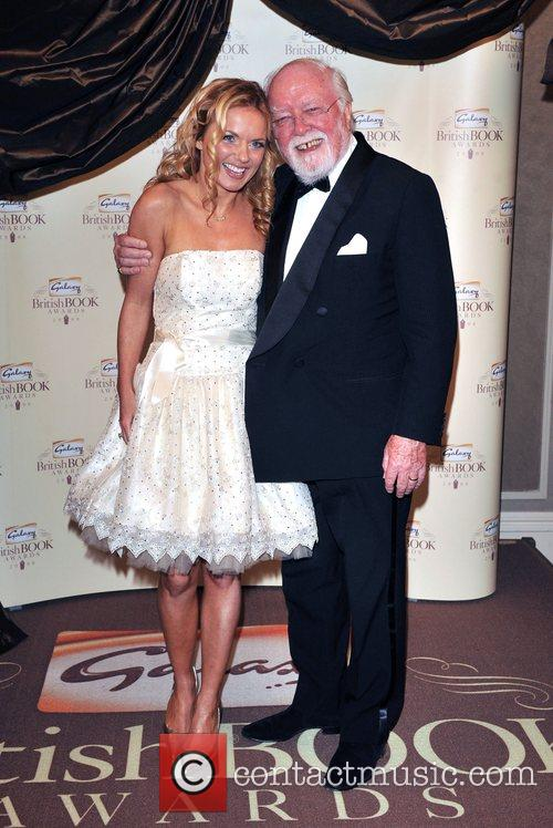 Geri Halliwell and Lord Richard Attenborough 1