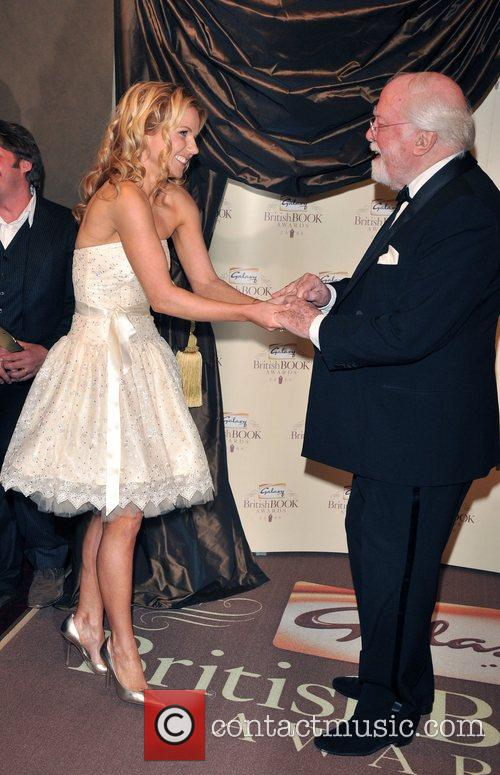 Geri Halliwell and Lord Richard Attenborough 8