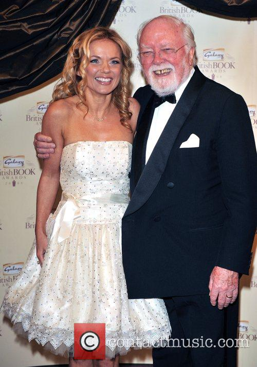 Geri Halliwell and Lord Richard Attenborough 10