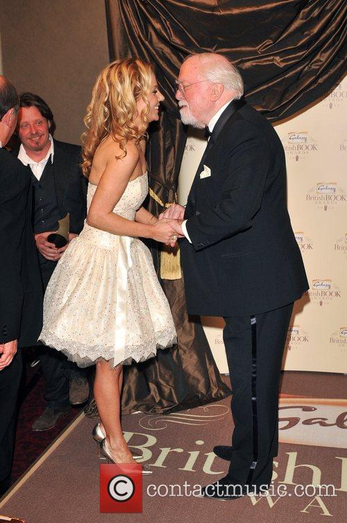 Geri Halliwell and Lord Richard Attenborough 7