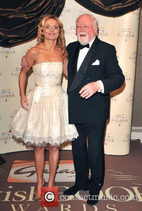 Geri Halliwell and Lord Richard Attenborough 12