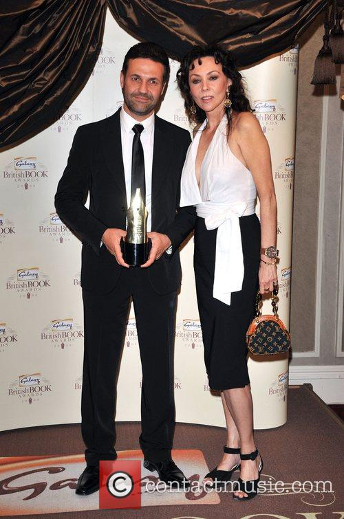 Khaled Hosseini and Marie Helvin Galaxy British Book...