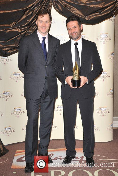 Khaled Hosseini and David Morrissey Galaxy British Book...