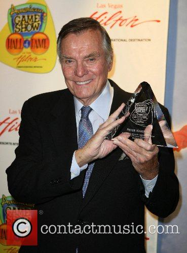 Peter Marshall at the 'American Game Show Hall...