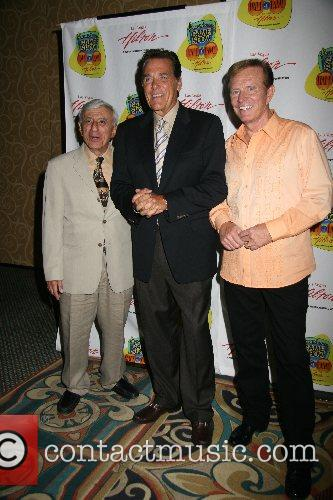 Jamie Farr and Chuck Woolery