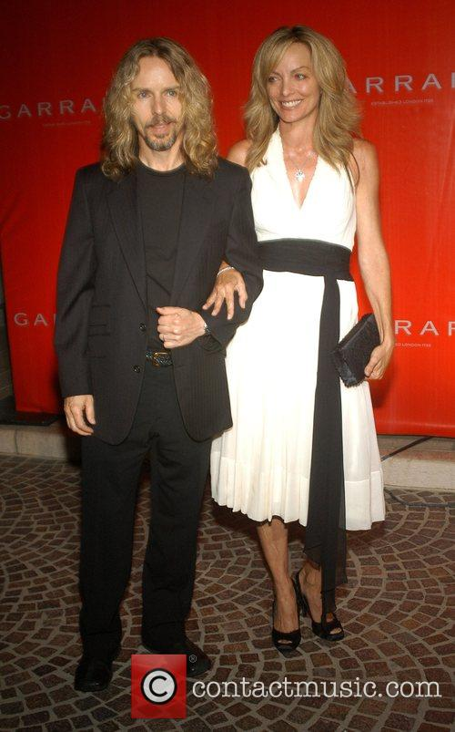 Tommy Shaw and guest Legendary Jeweler Garrard celebrates...