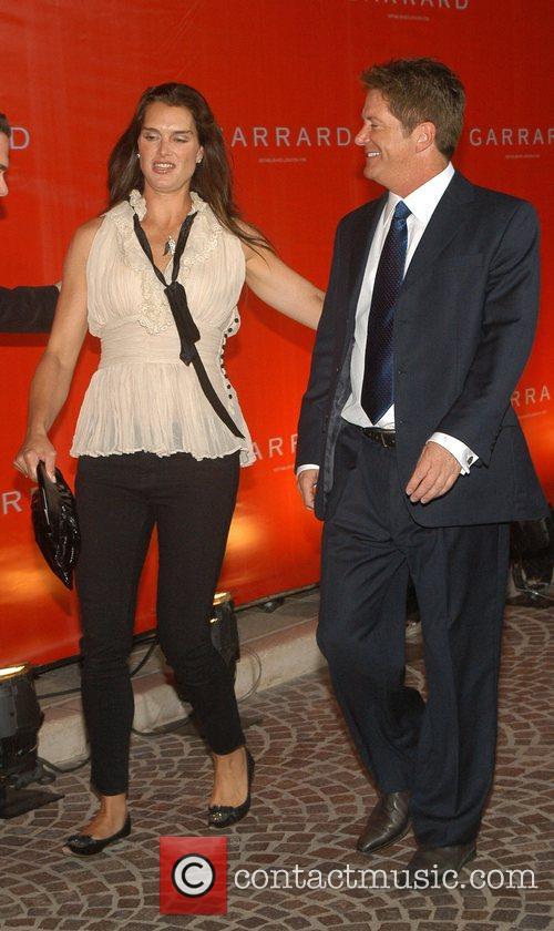 Brooke Shield and Robert Procop (CEO of Garrard)...