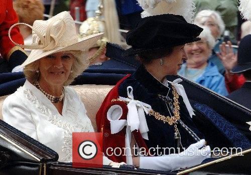 Camilla, Duchess of Cornwall and Princess Anne, Princess...