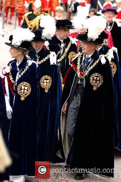 Princess Alexandra, Princess Anne, Princess Royal, Prince Andrew,...