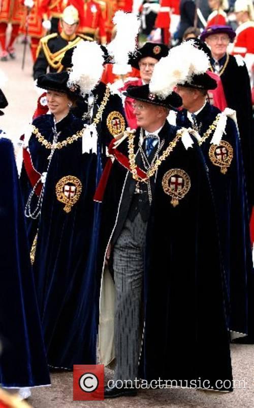 Princess Anne, Princess Royal, the Duke of Gloucester...