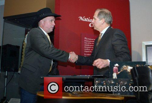Garth Brooks Country singer Garth Brooks donates items...