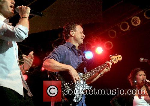 Gary Sinise and Lt. Dan Band performing live...