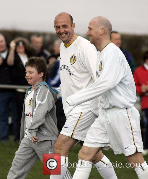 Leeds United Manager Gary McAllister put on his...