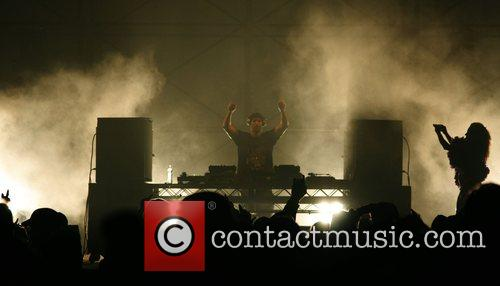 Performing at Gatecrasher: The Summer Sound System, 2008...