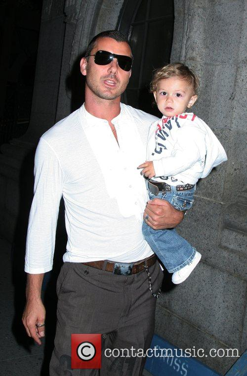 Gavin Rossdale and Kingston 1