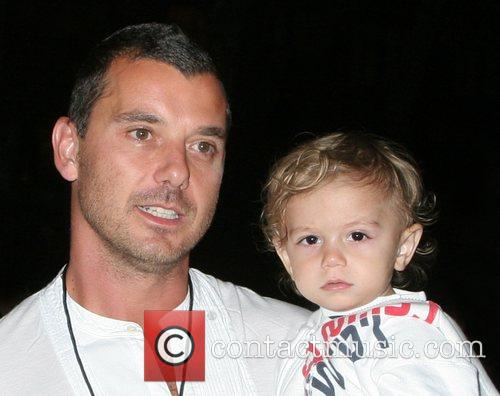 Gavin Rossdale and Kingston 2