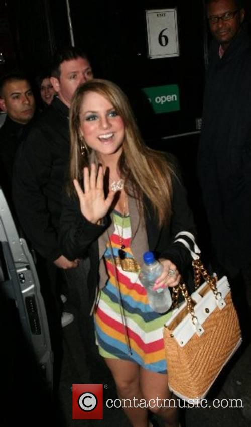 Jojo leaving G-A-Y at the Astoria London, England