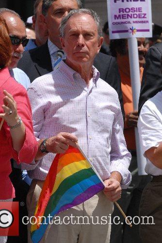 Mayor Bloomberg  38th Annual LGBT Gay Pride...