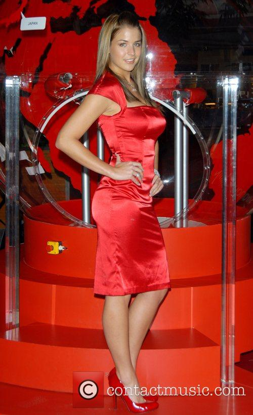 Gemma Atkinson and Virgin 11