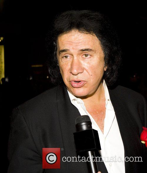 Gene Simmons inside Pure nightclub at Ceasar's Palace