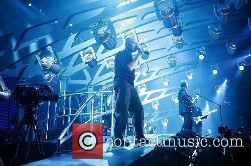 Phil Collins Genesis performing live at the LTU...