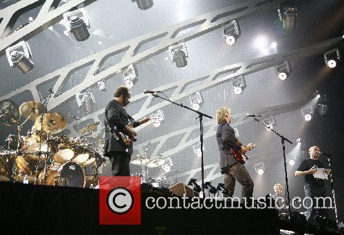 Genesis performing live at the LTU Arena Duesseldorf,...