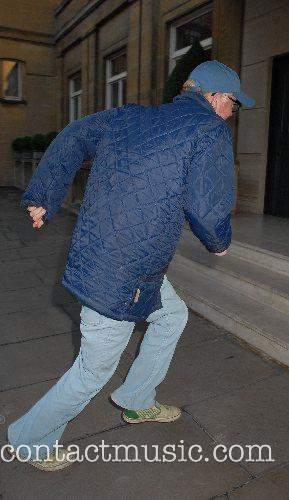 Chris Evans,  leaving George Michael's 44th birthday...